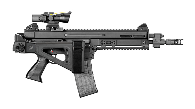 SB Tactical CZ 805 Bren S1 brace folded right profile