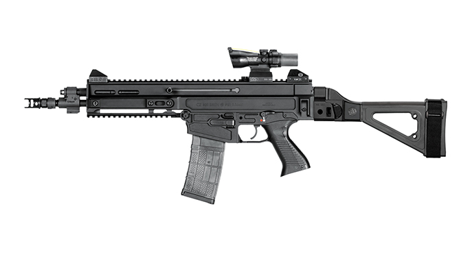 SB Tactical CZ 805 Bren S1 pistol brace left profile
