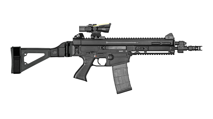 SB Tactical CZ 805 Bren S1 pistol brace right profile