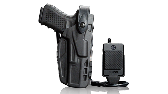 Safariland 7TS With CAS retention holsters
