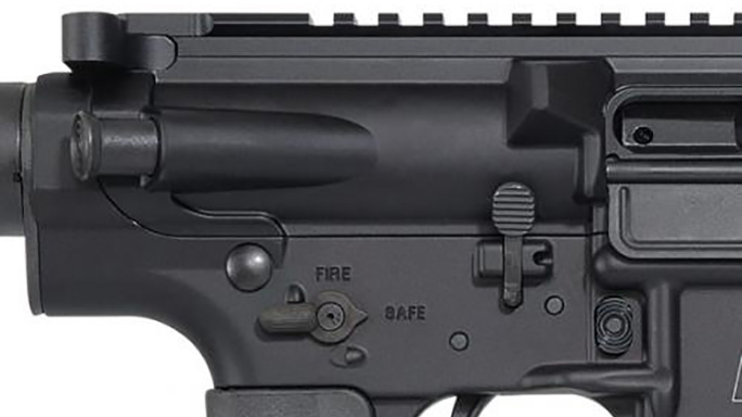 Smith Wesson M&P10 Sport rifle controls