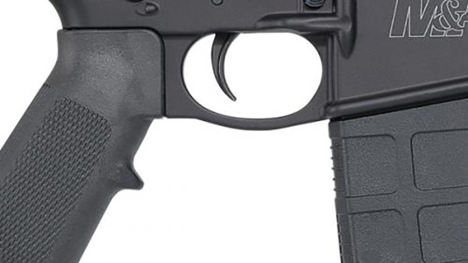 Smith Wesson M&P10 Sport rifle trigger