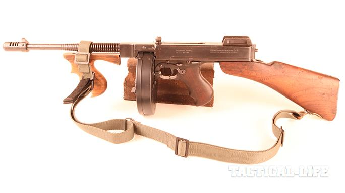 Vickers Combat Application Sling on tommy gun