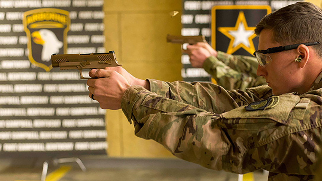 army m17 pistol test