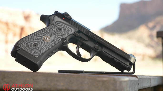 Beretta/Wilson Combat 92G Centurion Tactical Pistol Athlon Outdoors Rendezvous video