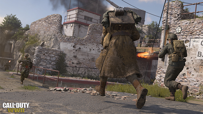 Call of Duty WWII release firing