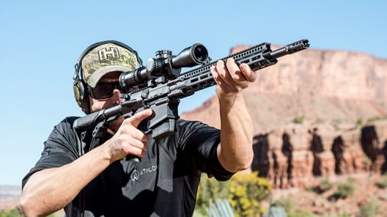 Daniel Defense DD5V2 rifle range Athlon Outdoor Rendezvous