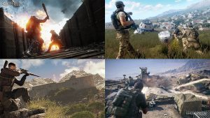 First-Person Shooter Video Games Holidays
