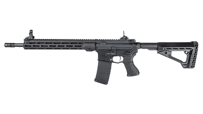 Savage MSR 15 Recon combat rifle rendezvous left