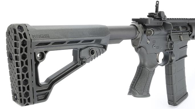 Savage MSR 15 Recon combat rifle rendezvous stock