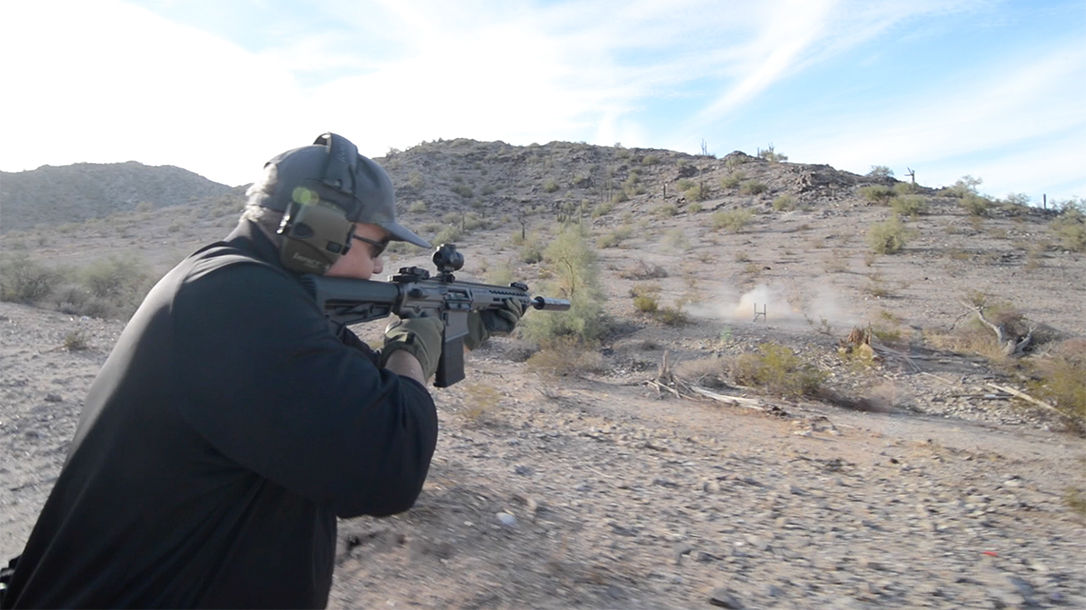 Barrett REC10 rifle athlon outdoors rendezvous lead range