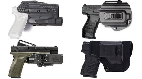high-tech retention holsters