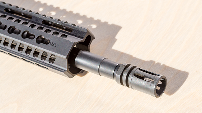 Taurus T4SA M4 Carbine Athlon Outdoors Rendezvous muzzle
