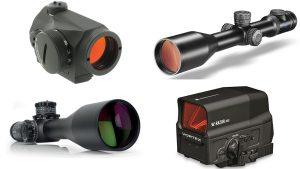 new gun optics and sights