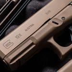 Glock 19X pistol release logo