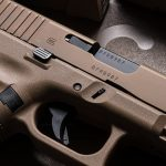 Glock 19X pistol release slide