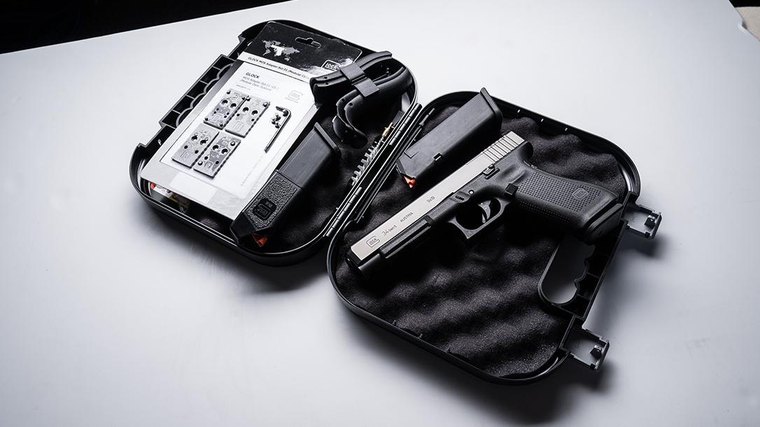 Glock 34 Gen5 MOS pistol release case