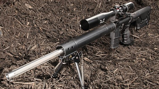 anderson heavy barrel varminter rifle