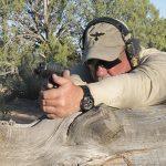 Beretta APX pistol shooting