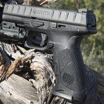 Beretta APX pistol left profile