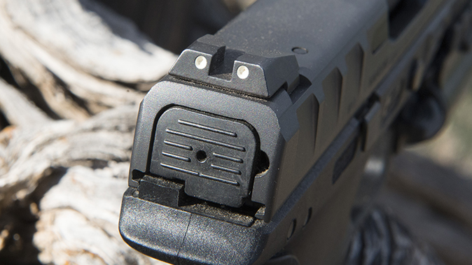 Beretta APX pistol rear sight