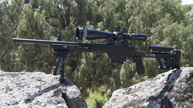 Bergara B-14 BMP rifle left profile