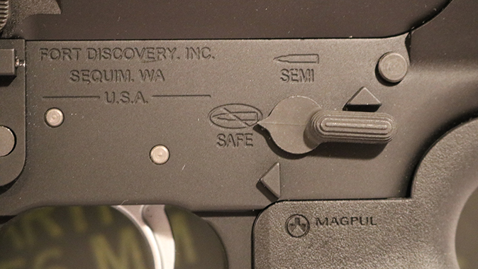Fort Discovery Expedition rifle select fire