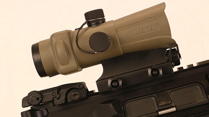Fort Discovery Expedition rifle lucid optic