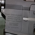 Fort Discovery Expedition rifle engraving