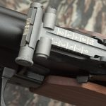 K-VAR VEPR rifle rear sight