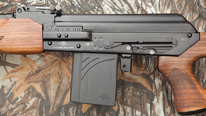 K-VAR VEPR rifle receiver left
