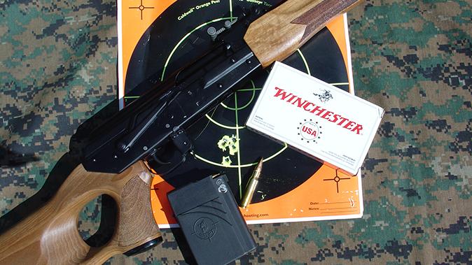 K-VAR VEPR rifle target