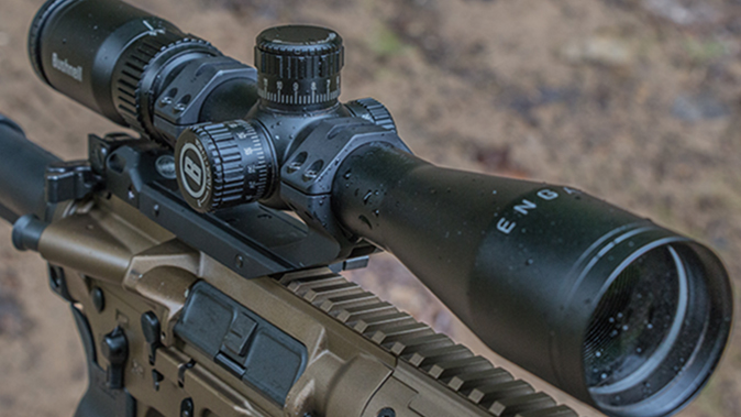 LWRCI SIX8-A5 Razorback II rifle scope