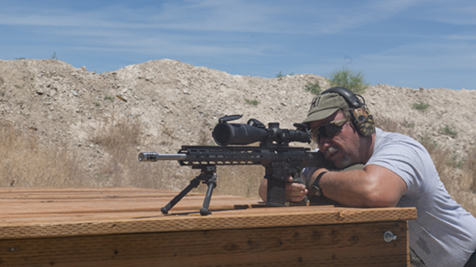 Leupold Mark 8 3.5-25x56mm M5C2 scope test