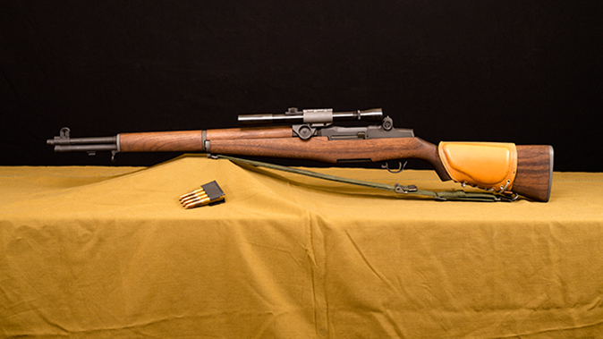 M1D Garand rifle left profile