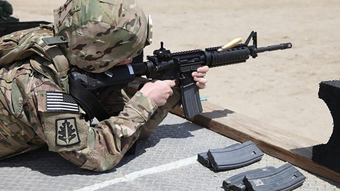 M855A1 round firing