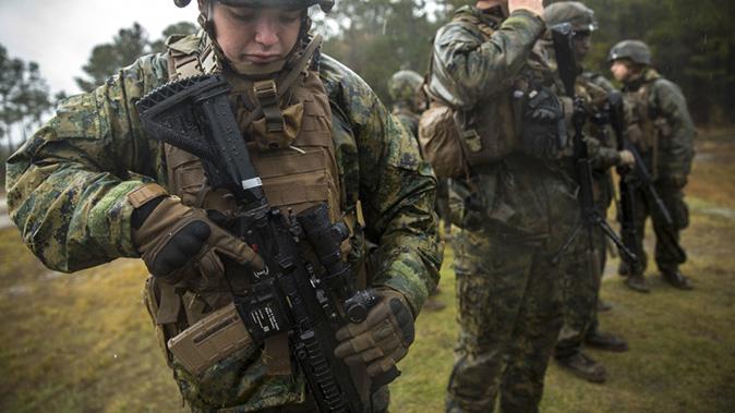 marines m38 rifle fielding