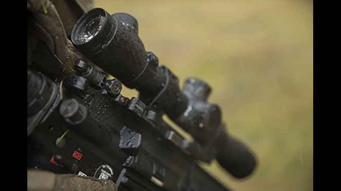marines m38 rifle optic