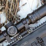 Nightforce NX8 ATACR 1-8x24 F1 scope attached