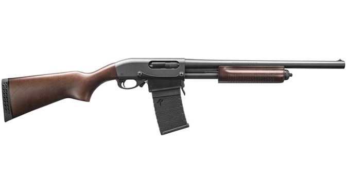 Remington 870 DM Hardwood shotgun