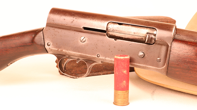Remington Model 11 shotgun steel
