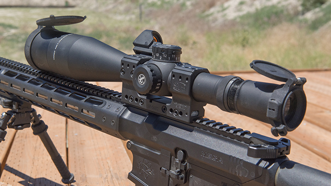leupold riflescope mounted