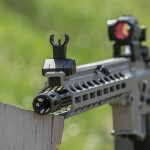 Sig Sauer M400 Elite rifle iron sight