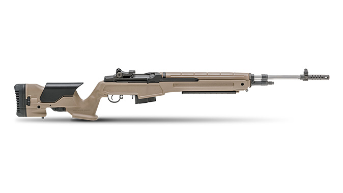 Springfield M1A 6.5 creedmoor rifle FDE precision stock