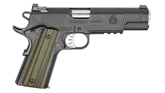 Springfield TRP Operator 10mm pistol right profile