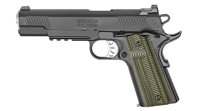 Springfield TRP Operator 10mm pistol left profile