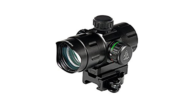"UTG 4.2"" ITA Red/Green CQB Dot With QD Mount budget AR"