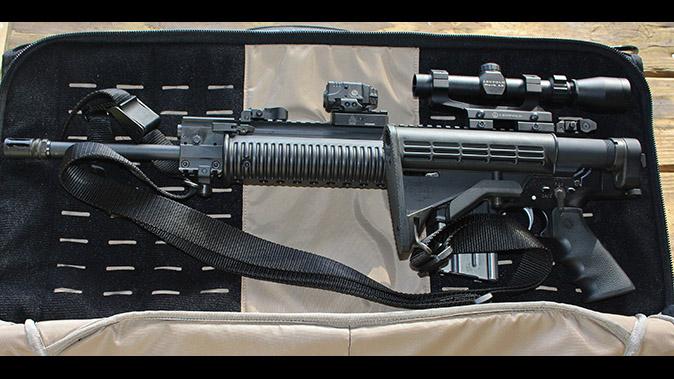 Vertx Professional Rifle Garment gun bags open left profile