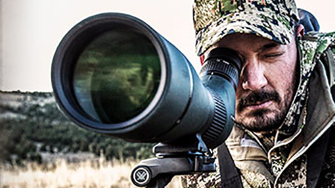 vortex viper hd spotting scope range gear