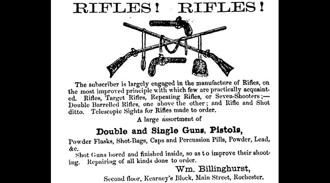Billinghurst-Requa Battery Gun First machine gun ad